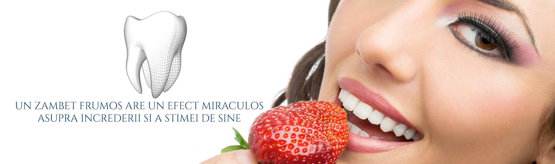 Clinica Estetica Dentara - albirea dintilor Bacau